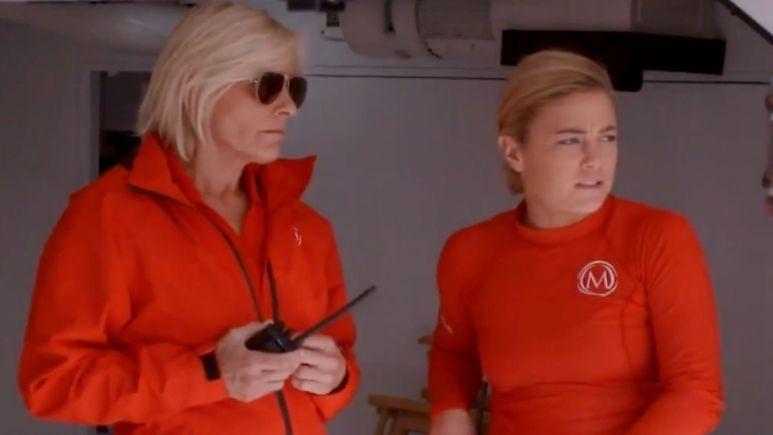 Captain Sandy Yawn from Below Deck Mediterranean responds to Malia White jet ski drama on show.