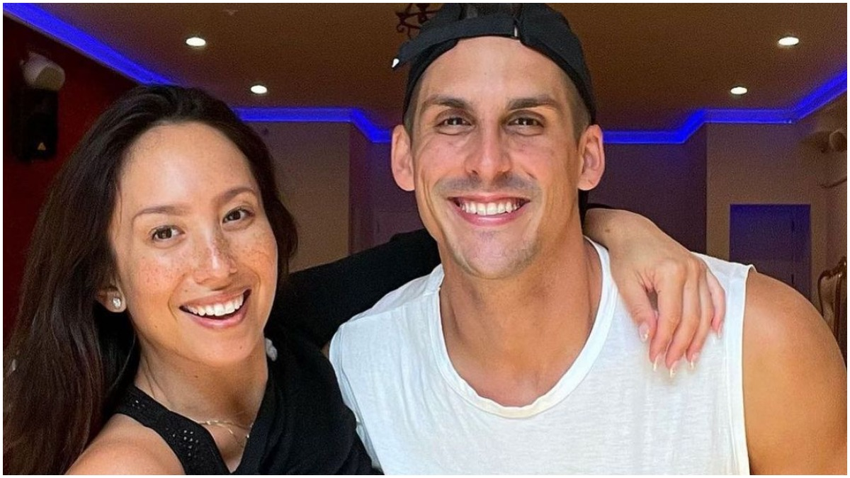 Cheryl Burke and Cody Rigsby on DWTS