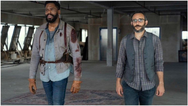 Colman Domingo as Victor Strand and Omid Abtahi as Howard, as seen in Episode 16 of AMC's Fear the Walking Dead Season 6
