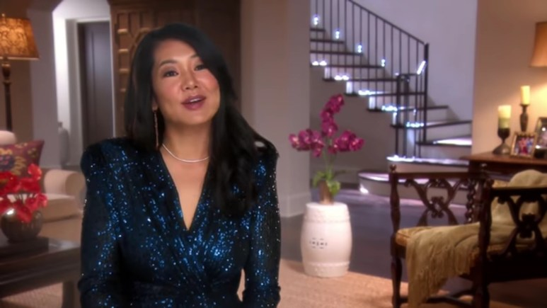 Crystal Kung Minkoff in a RHOBH confessional.