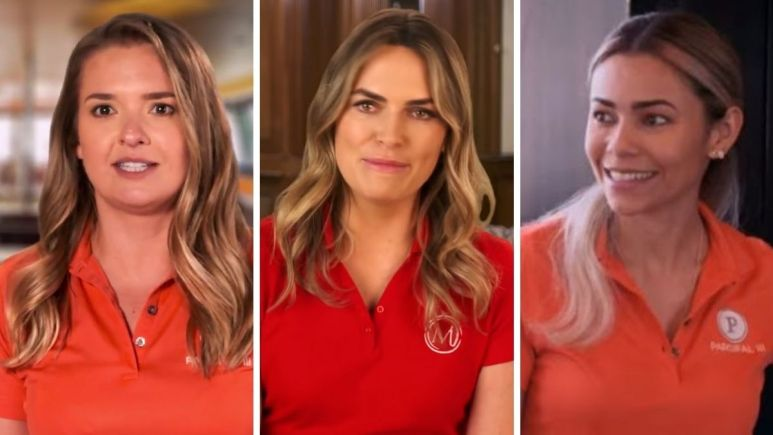 Daisy Kelliher and Dani Soares from Below Deck Sailing Yacht talk Katie Flood stew issues on Below Deck Med.