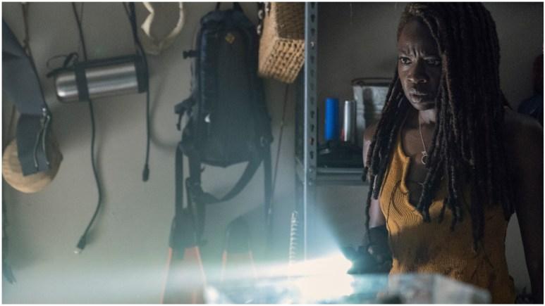 Danai Gurira stars as Michonne in Episode 13 of AMC's The Walking Dead Season 10