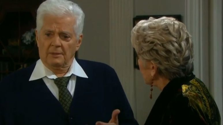 Days of our Lives spoilers tease rough times are ahead for Julie and Doug.