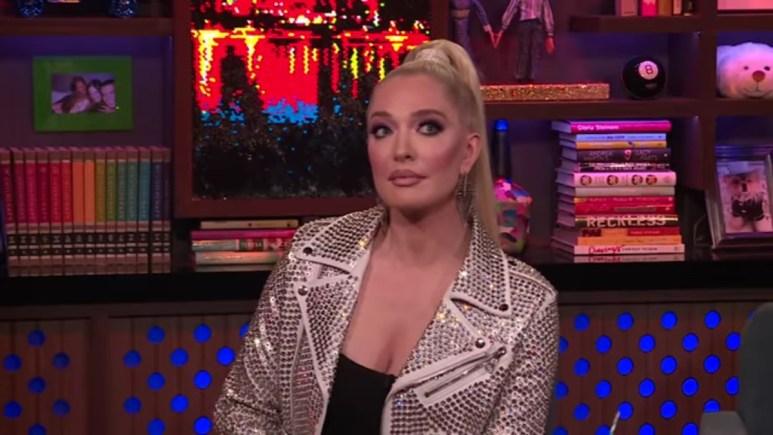 Erika Jayne on Watch What Happens Live.