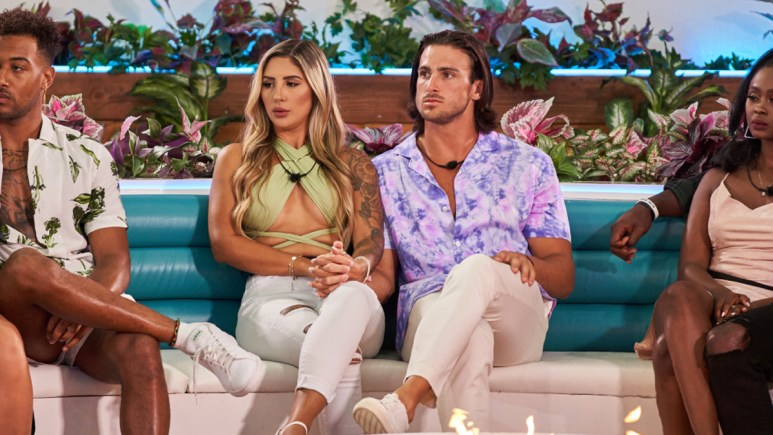 Florita and Jeremy from Love Island USA
