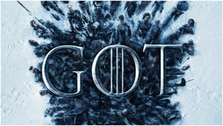Promotional poster for the final season of HBO's Game of Thrones
