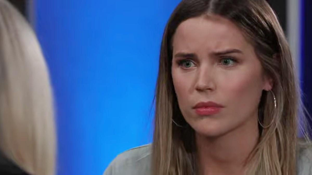 Sofia Mattsson as Sasha on General Hospital.
