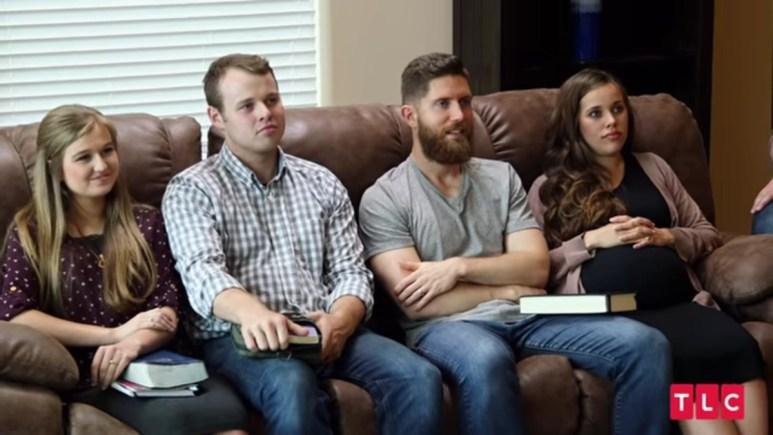 Kendra, Joseph, Jessa, and Ben at a couple's retreat.