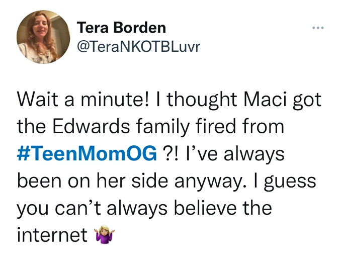 Teen Mom OG fans are confused by Ryan Edwards and his family being on the show