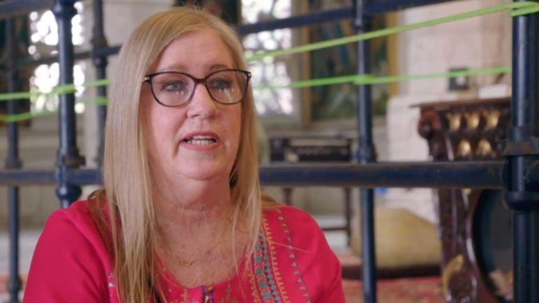 Jenny Slatten wears glasses