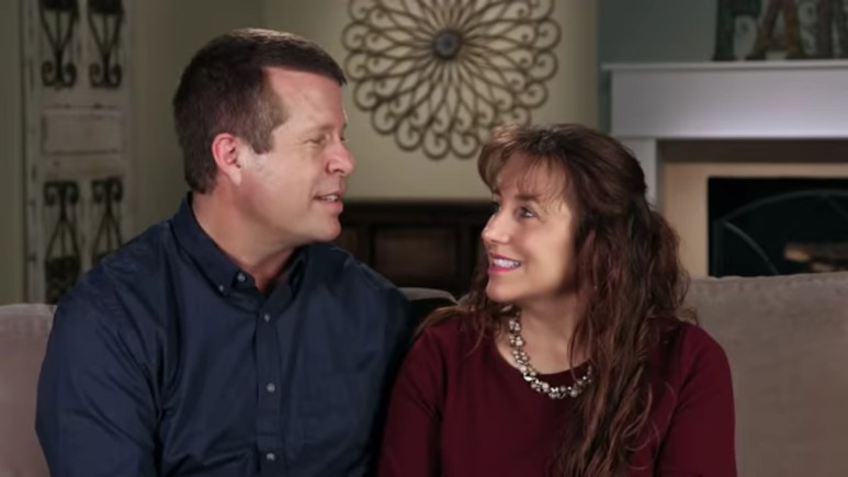 Jim Bob and Michelle Duggar in a Counting On confessional