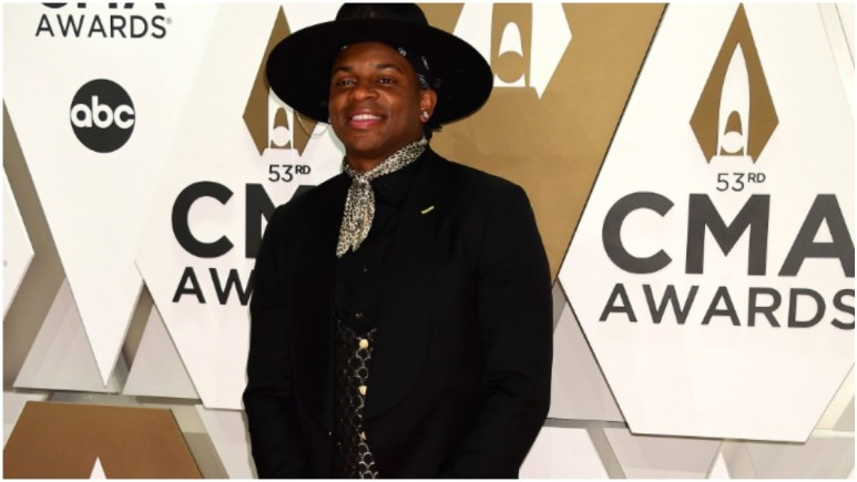 Jimmie Allen at the CMA Awards