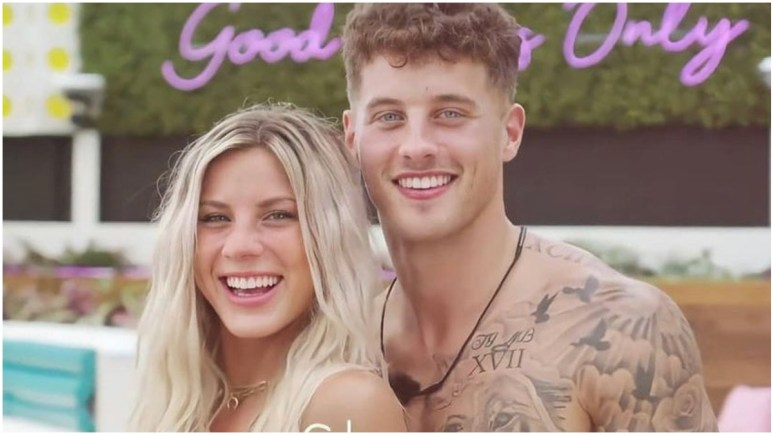 Josh and Shannon from Love Island USA