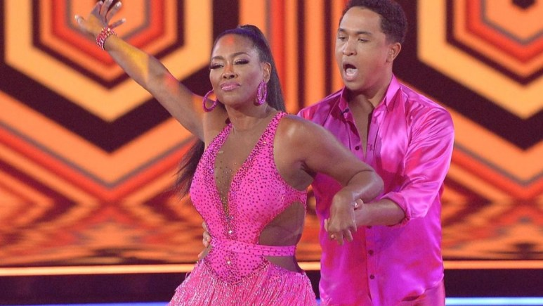 Kenya Moore on Dancing With the Stars