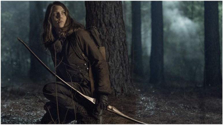 Lauren Cohan stars as Maggie Rhee, as seen in Episode 3 of AMC's The Walking Dead Season 11