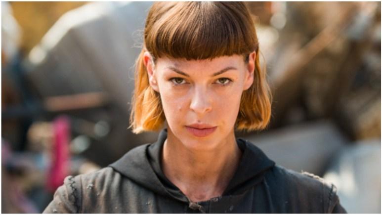 Pollyanna McIntosh stars as Jadis, as seen in Episode 7 of AMC's The Walking Dead Season 8