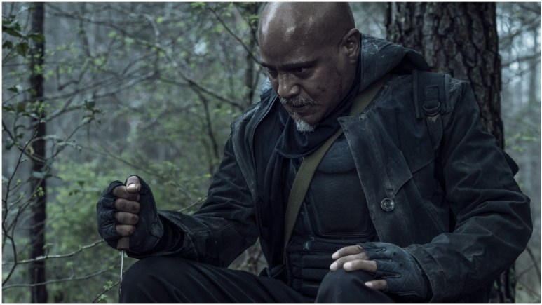 Seth Gilliam as Father Gabriel Stokes, as seen in Episode 3 of AMC's The Walking Dead Season 11
