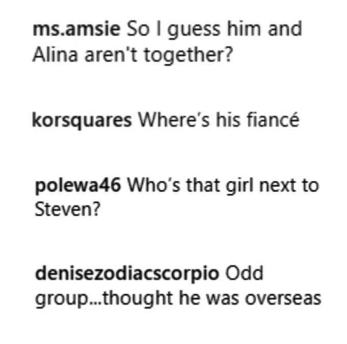 90 day fiance fans reacted to the pic of steven, chantel and pedro on instagram
