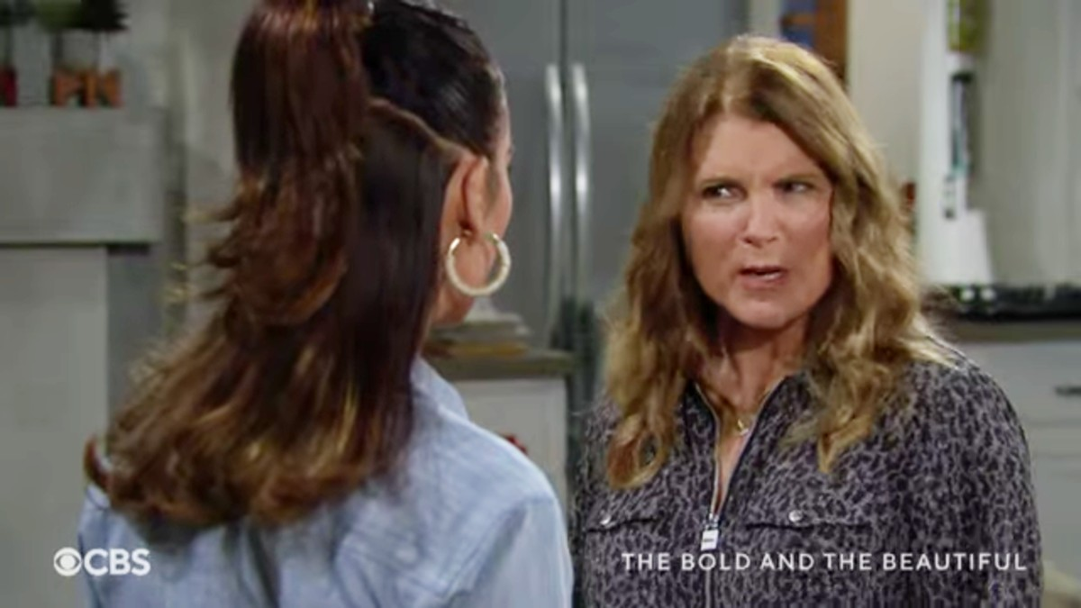 Steffy and Sheila on The Bold and the Beautiful.