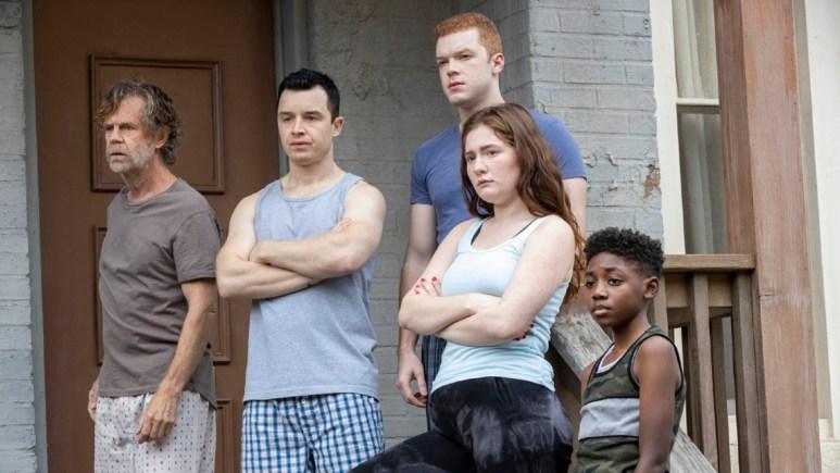 The cast of Shameless