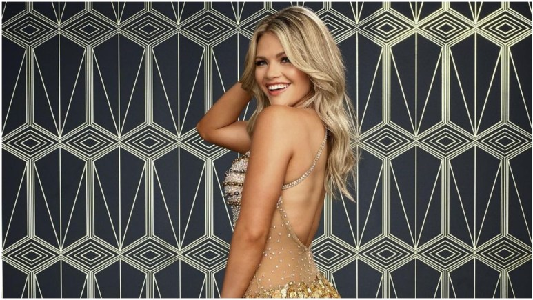 Witney Carson from Dancing with the Stars