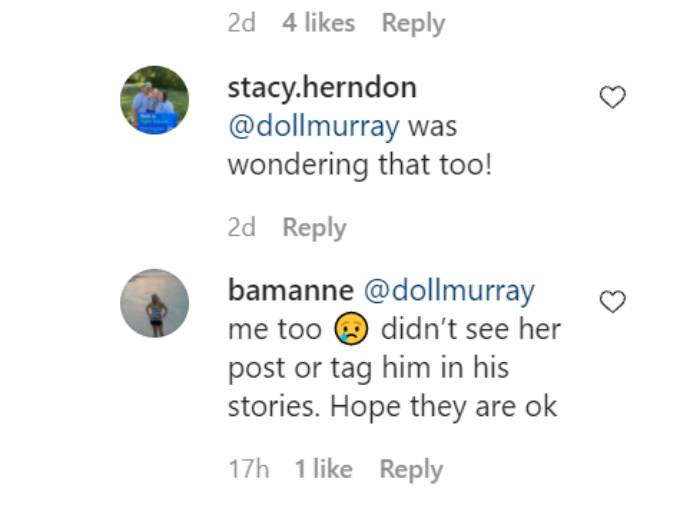 Comments on Dale Moss's Instagram pos
