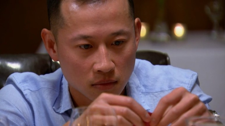 MAFS Johnny rips up a rose in anger