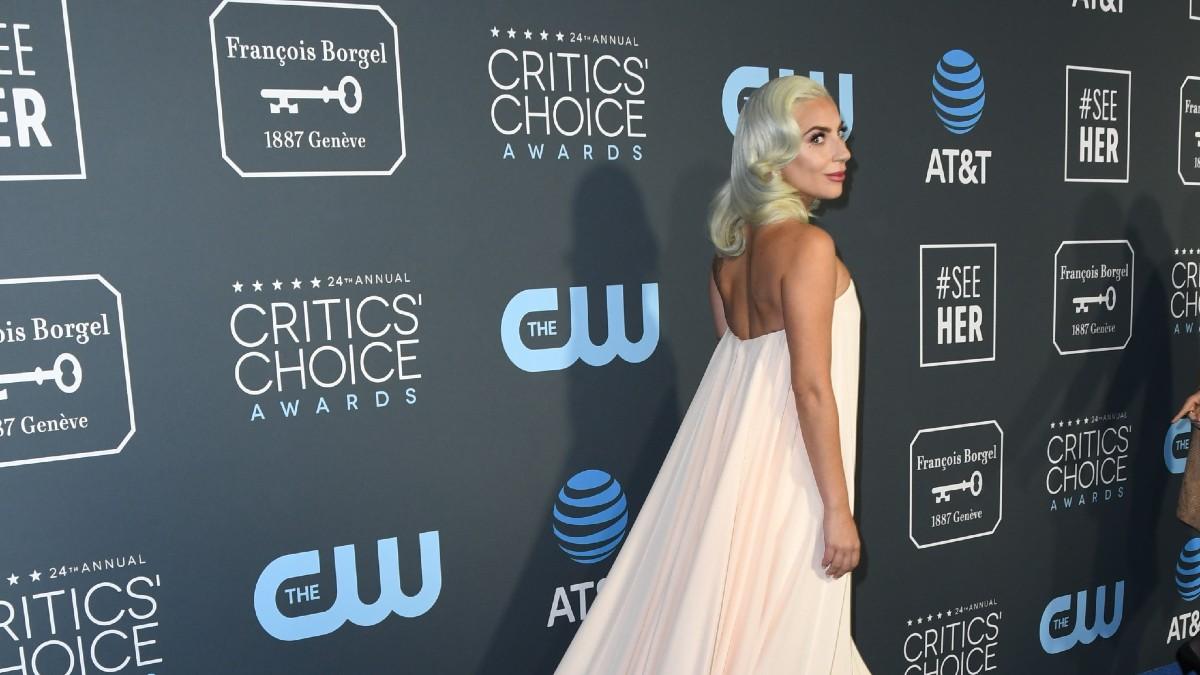 Lady Gaga at Critic's Choice Awards