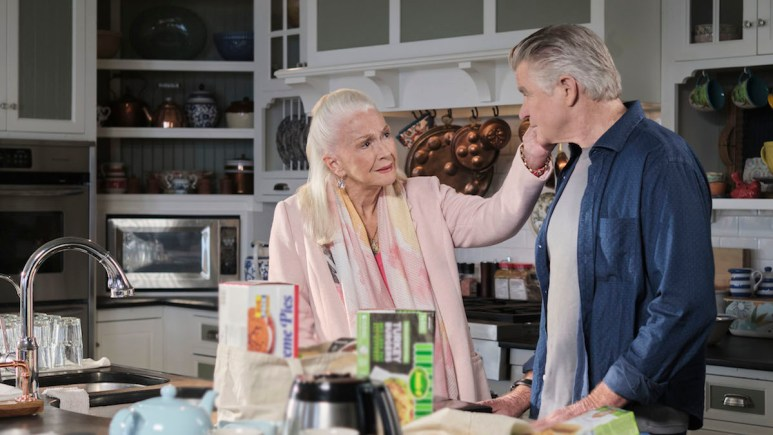 Nell (Dianne Ladd) and Mick (Treat Williams) on Hallmark Channel's Chesapeake Shores