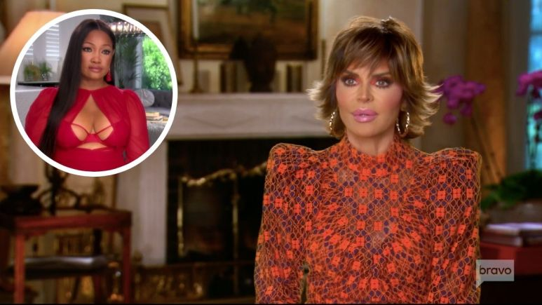 RHOBH stars Lisa Rinna and Garcelle Beauvais hash out their differences