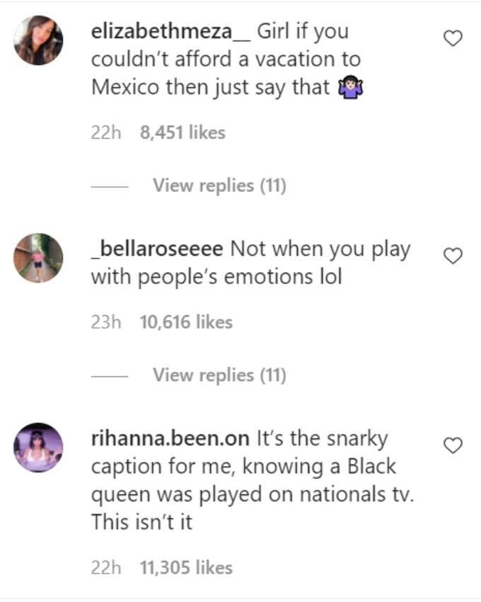 Comments on Pieper James's Instagram post