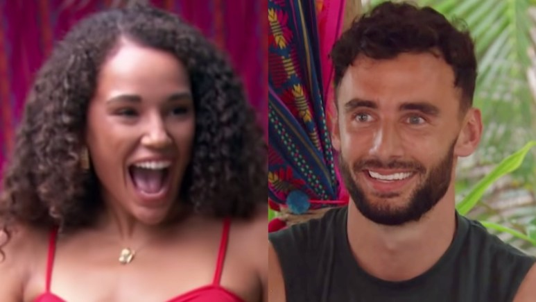 Pieper James and Brendan Morais on Bachelor in Paradise