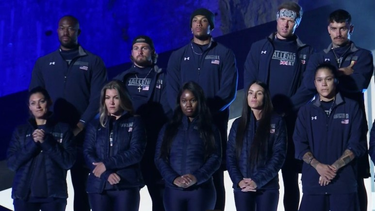 the challenge season 37 cast members during episode 4 elimination