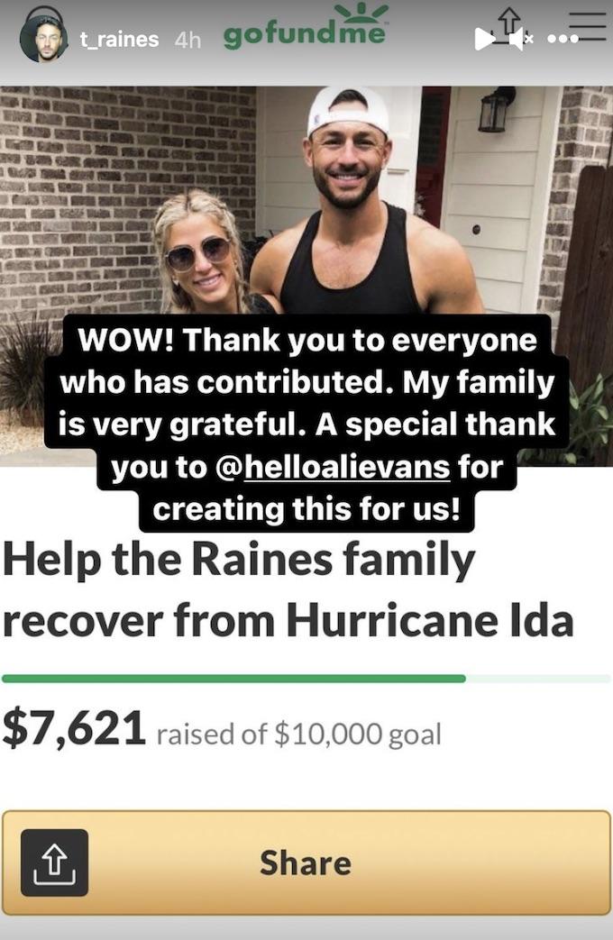 the challenge star tony raines provides go fund me update