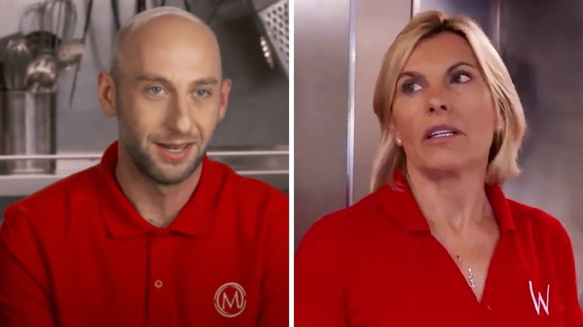 Captain Sandy Yawn and chef Mathew Shea have a heated exchange ahead of Below Deck Mediterranean Season 6 reunion show.