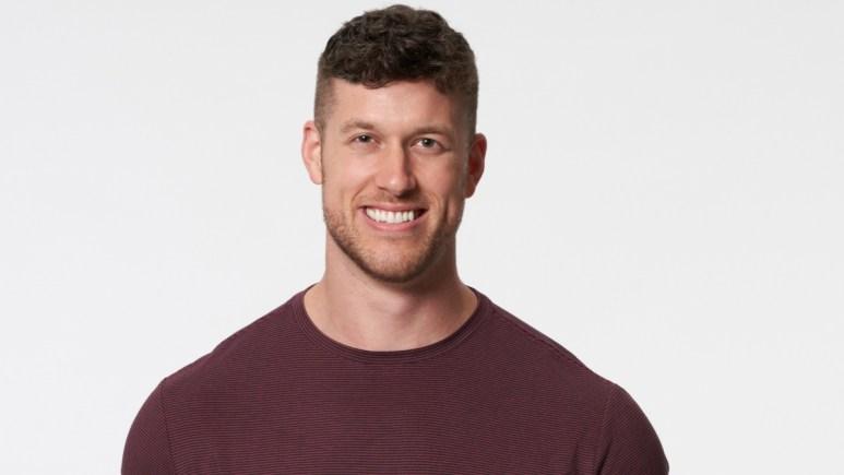 Clayton Echard smiles