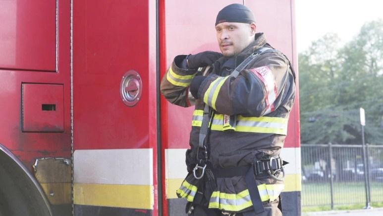 Cruz On Chicago Fire S10 E3