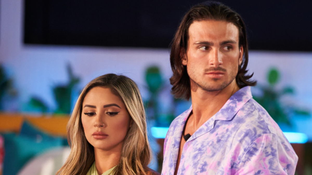 Jeremy and Florita from Love Island USA