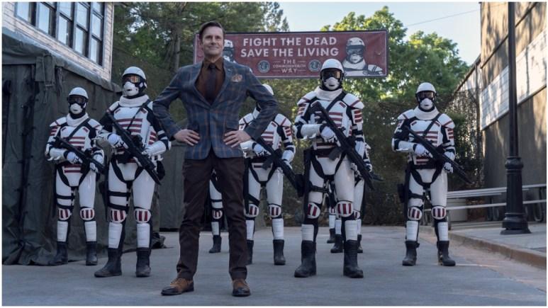 Josh Hamilton stars as Lance Hornsby, as seen in Episode 5 of AMC's The Walking Dead Season 11