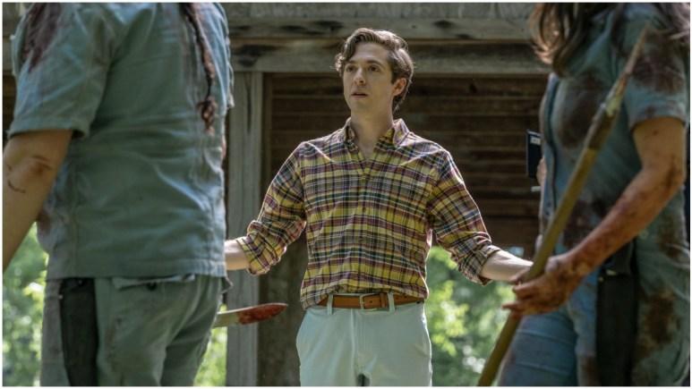 Teo Rapp-Olsson stars as Sebastian, as seen in Episode 7 of AMC's The Walking Dead Season 11
