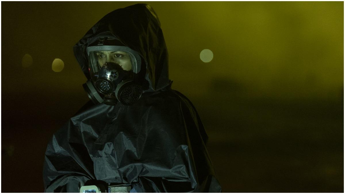 Karen David stars as Grace, as seen in Episode 2 of AMC's Fear the Walking Dead Season 7
