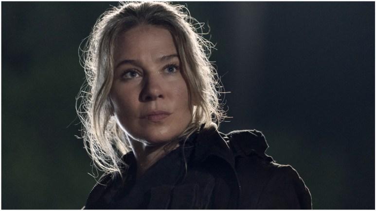 Lynn Collins stars as Leah, as seen in Episode 8 of AMC's The Walking Dead Season 11