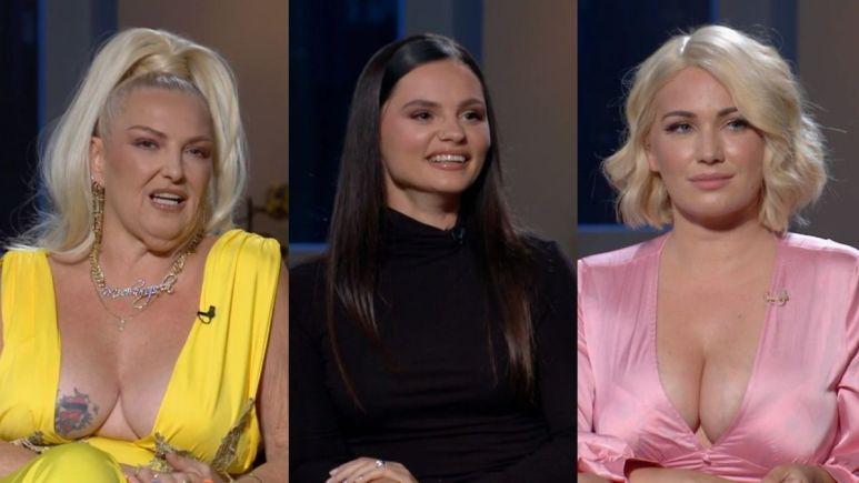 Angela, Julia, and Stephanie