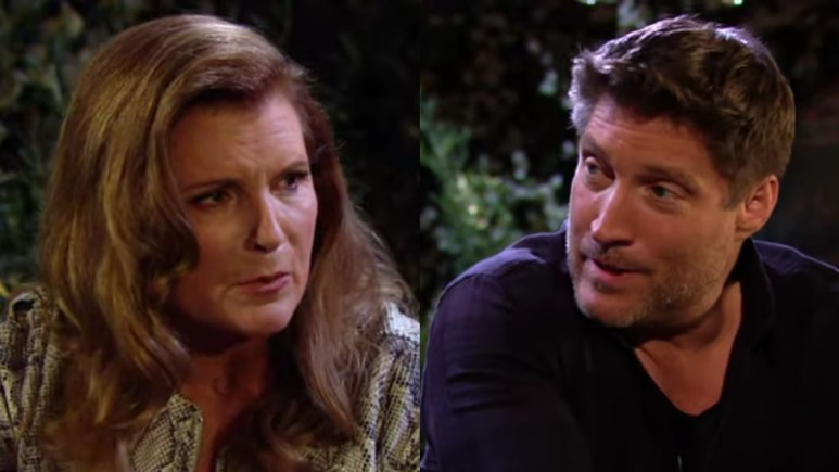 Sheila and Deacon on The Bold and the Beautiful.