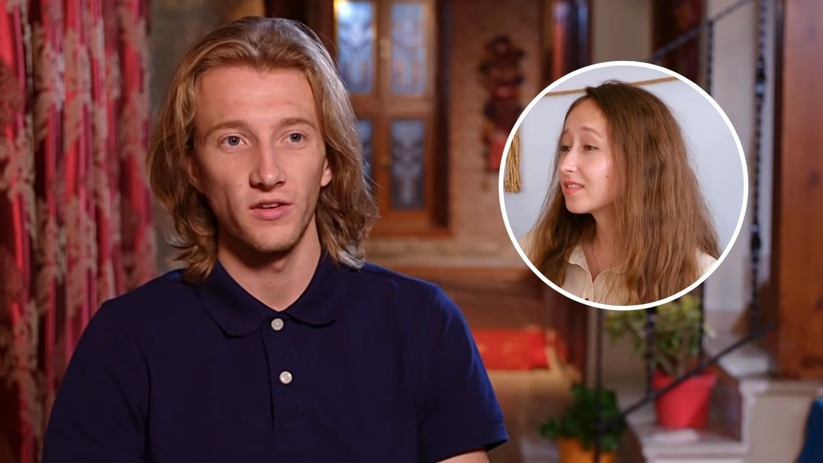 Steven Johnston and Alina from 90 Day Fiance: The Other Way