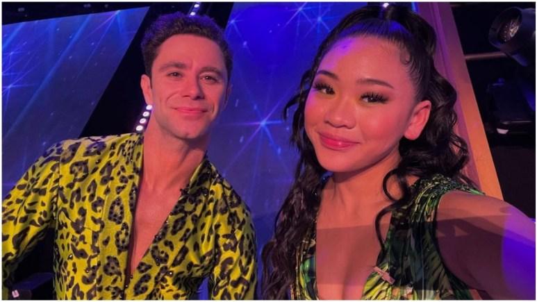 Suni and Sasha on Dancing With the Stars