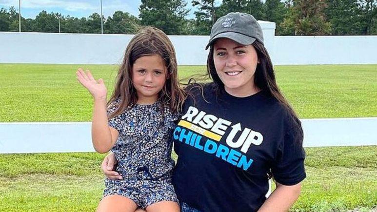 Teen Mom 2 alum Jenelle Evans and daughter Ensley