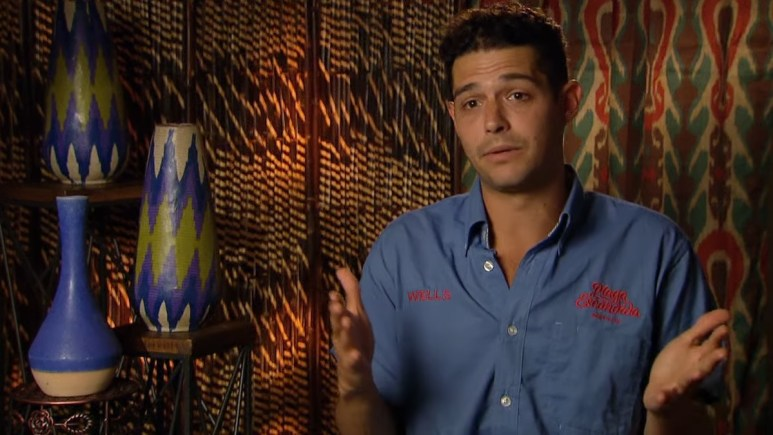 Wells Adams on Bachelor in Paradise