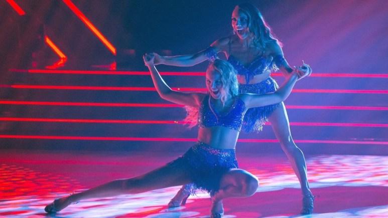 Jenna Johnson and JoJo Siwa on Dancing with the Stars.