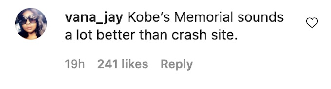 fans comment on cory wharton ig post kobe site